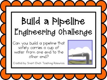 Build a Pipeline: Engineering Challenge Project ~ Great STEM Activity!  $