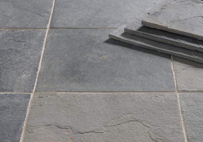 Rustic Grey Slate   Floors of Stone   sample ordered