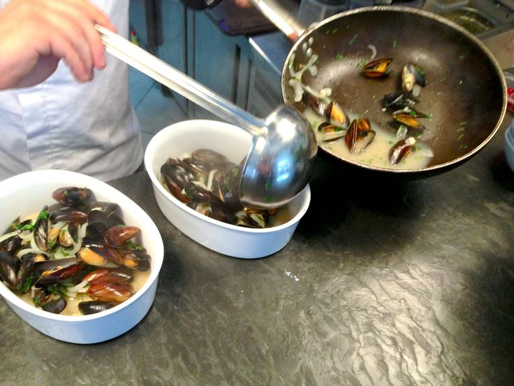 MUSSELS! :)