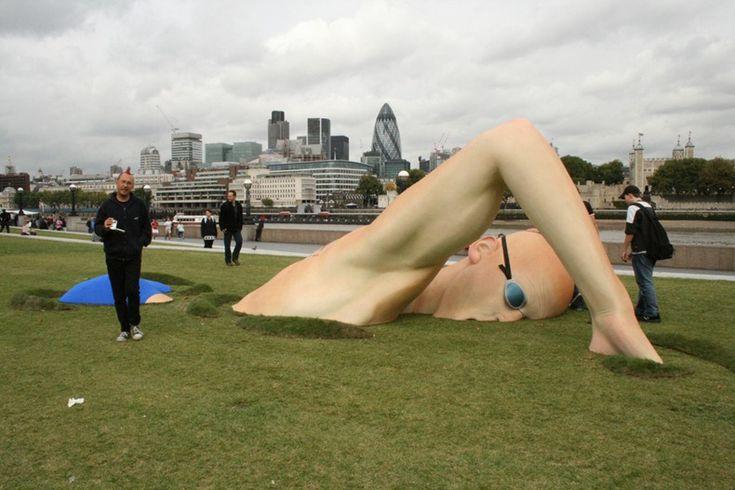 Creative Sculptures Promoting London
