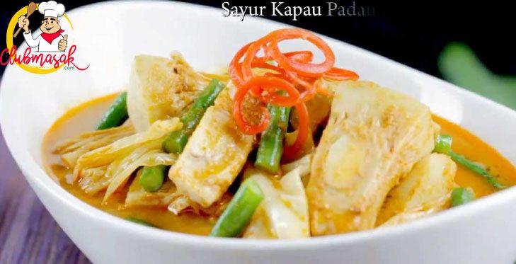 Resep Masakan Sayur Kapau, Menu Makanan Sehat, Club Masak