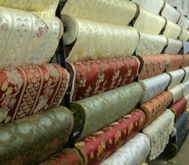 Want to go to this fabric store in Chicago.  Here's a video about the store:  http://gapersblock.com/ac/2011/04/14/the-grid-textile-discount-outlet/