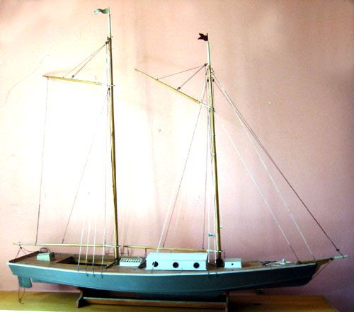 61 best model yacht pond boat images on pinterest pond for 68 garden design gaff rigged schooner