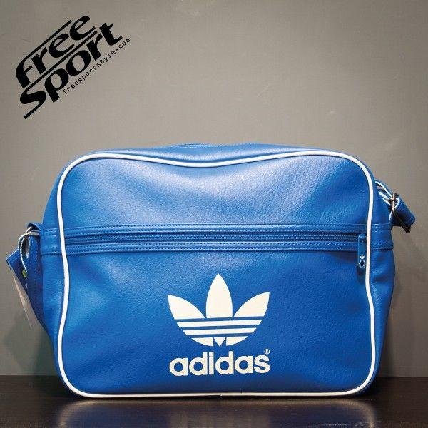 Borsa Tracolla Adidas Pelle Azzurra M30582 http://freesportstyle.com/adidas/594-borsa-tracolla-adidas-pelle-azzurra-m30582.html