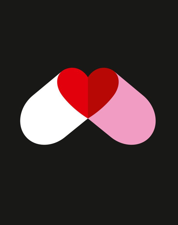 Love is the drug by Noma Bar
