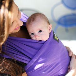 Boba Baby Wrap - Purple