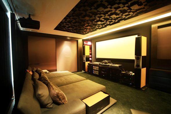 Home Theather Sala Pequena ~ hometheater sala home theaters home theater home theatre audio room
