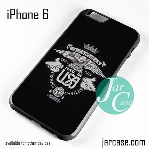Crooks And Castles Los Angeles Phone case for iPhone 6 and other iPhone devices