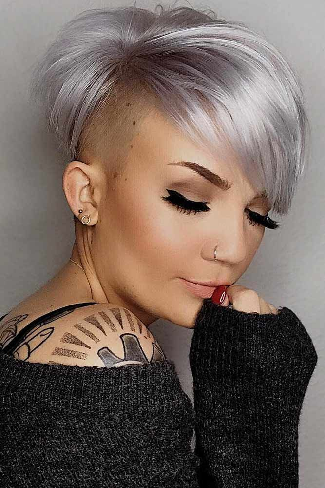 Bold And Classy Undercut Pixie Ideas That Make Heads Turn Short Hair Undercut Shaved Side Hairstyles Undercut Hairstyles