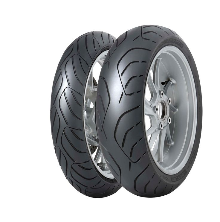 Dunlop ROADSMART III Tires.