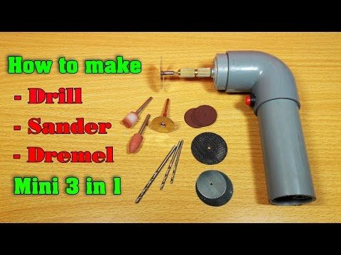 How to make a Powerful Dremel Multi Tool at Home - YouTube