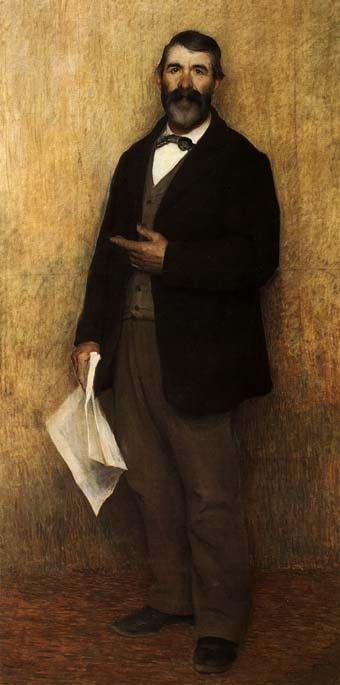 Portrait by Joseph Pellizza Volpedo (Italian 1868 – 1907)