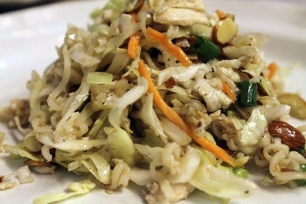 Oriental Chicken Salad. 25 year recipe and haven't found one better yet! #chickensalad #recipe #chicken #salad