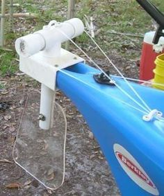 Easy DIY Kayak Rudder. - Pensacola Fishing Forum