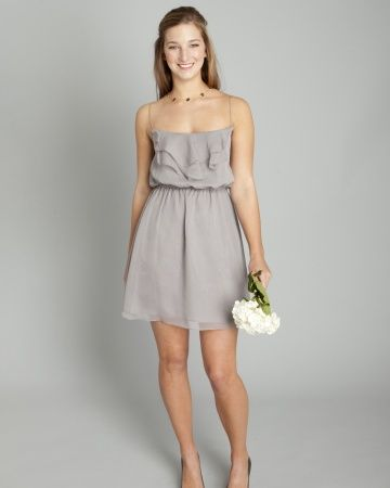 Bridesmaid Dresses for Beach Weddings. @Leila Pablo and @Renee Duncan