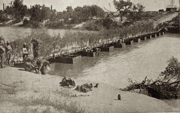 Modder River pontoon bridge. This Day in History: Dec 11, 1899: The Battle of Magersfontein http://dingeengoete.blogspot.com/