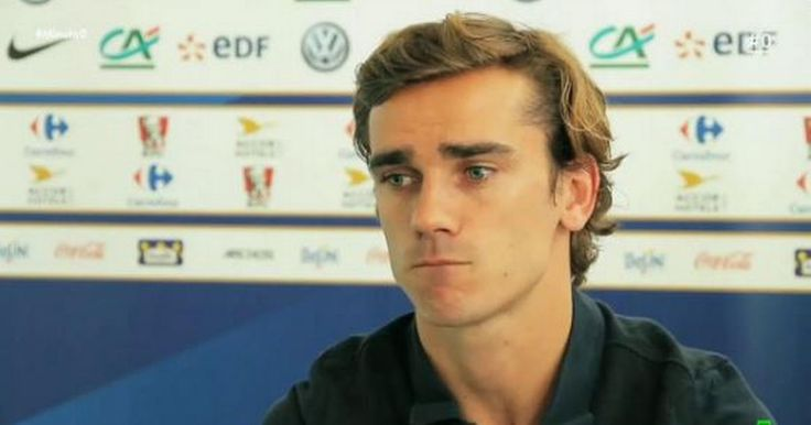 The latest update in the rumoured transfer of Atletico Madrid forward Antoine Griezmann to Man Utd.