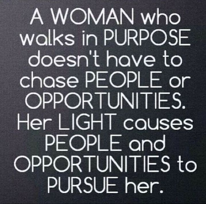 I love this. So true! I am forever grateful for the blessings and doors that the Lord has given to us. So ladies, walk in the LIGHT.