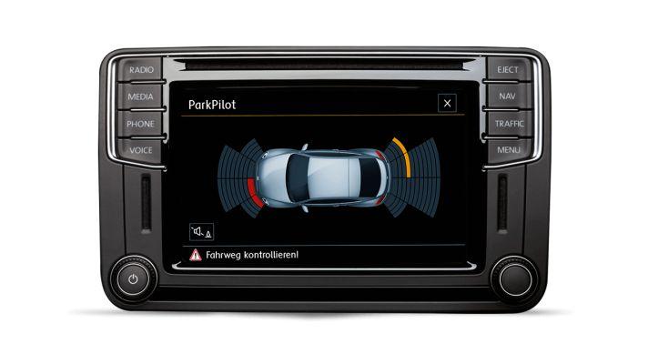 Volkswagen Beetle Sistema de advertencia de distancia de aparcamiento