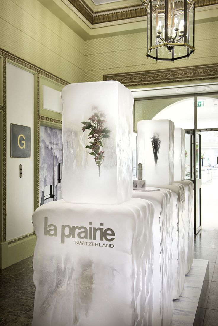 La Prairie Pop-up | Ice Crystal Collection, Harrods by Millington Associates Arcreactions.com YOUR Calgary marketing agency http://arcreactions.com/net-perception-marketing-missing-point/