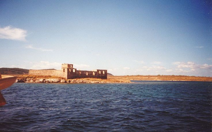The monastery of Saint George on the Gulf of Pateritsa (also known as Saint George of Psifi), Moschonisi.