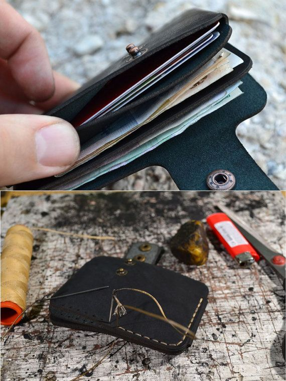Leather Wallet Men Wallet Leather Card Holder Leather