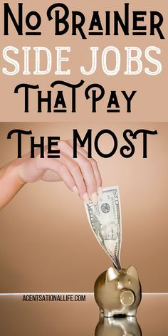 Side Jobs That Pay The MOST Money! #makemoney