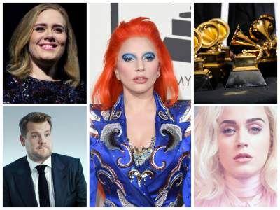 La lista de nominados a los premios Grammy 2017