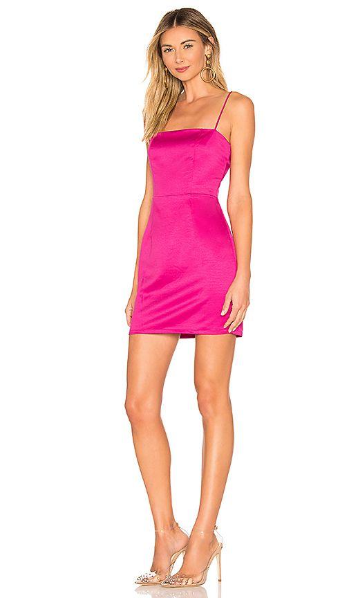 Hot Pink Mini Dress