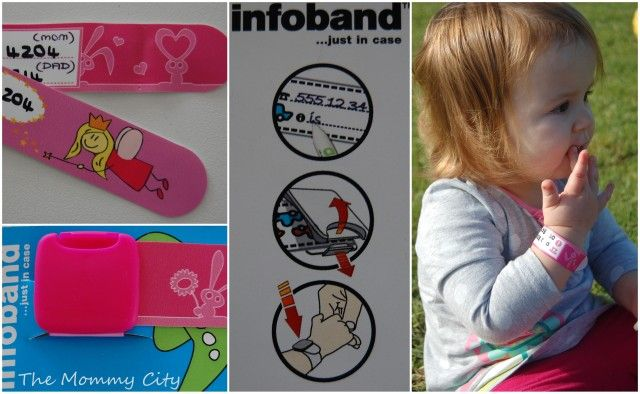 Infoband security band for children @ 4 A Kid : The Mommy City