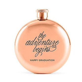 Women and men alike will love this polished rose gold round hip flask at a cute 3oz Hip Flask. Rose gold flask for bridesmaids, birthdays, groom, best man, guys gifts, gift for her and more.