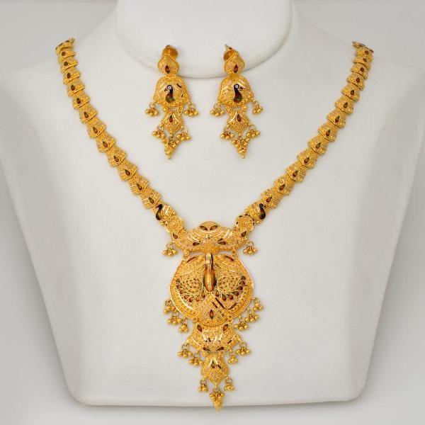 jewellery   gold   necklaceset