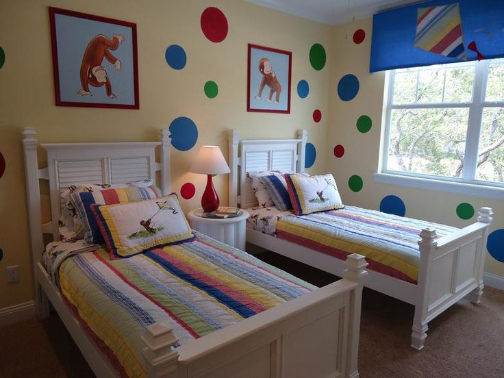Oooo A Nice More Grown Up Way To Have Curious George Room I Like Pinterest And Bedroom