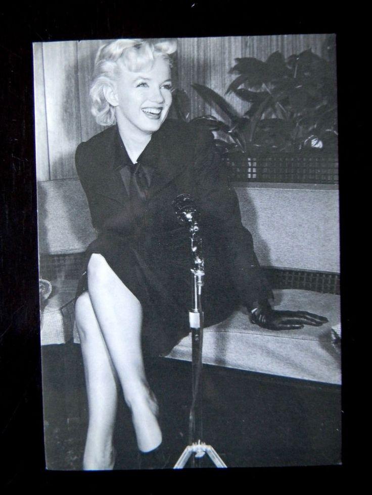 "1988 Marilyn Monroe Picture Postcard 4-1/4"" x 6"" Made USA 232-006 Good Quality  | eBay"
