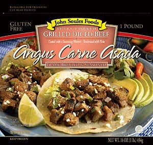 Watch and Win with Chef Lance in this week's video recipe! Watch this week's video recipe for Angus Carne Asada Tacos then leave a comment on our Youtube channel to qualify to WIN the John Soules Foods product in the video! Winner announced Feb 25 2013. Click on image to watch and win!