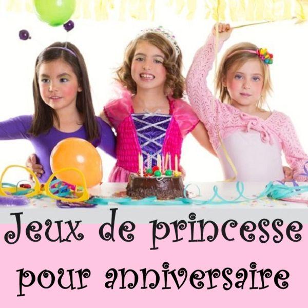 Petits jeux de princesse pour une fête d'anniversaire !