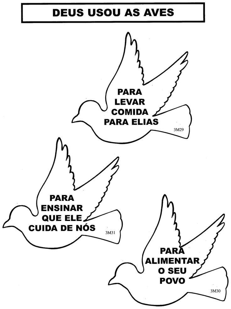O PROFETA E OS CORVOS - ELIAS | ´¯`··._.·Blog da Tia Alê