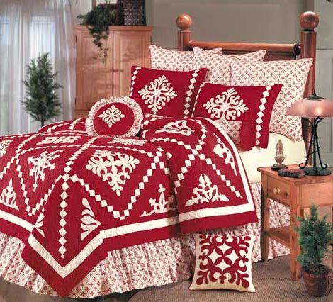 Christmas Quilts And Shams Snowfall Shams And Pillows