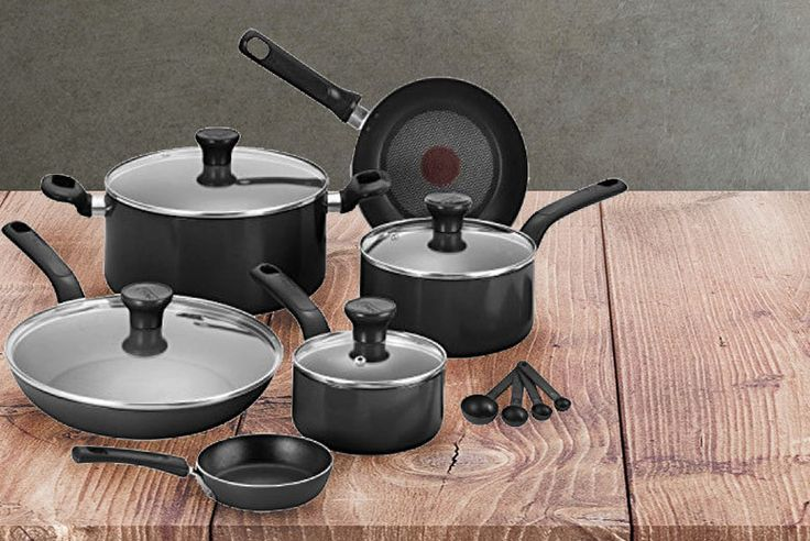 7pc Tefal® Excite Pan Set deal in Cookware & Utensils Get a 7pc Tefal® pan set.  The classic Excite range.  With non-stick coatings!  A turn-red thermo spot.  And dishwasher friendly.  Great to deck out a kitchen! BUY NOW for just £44.99