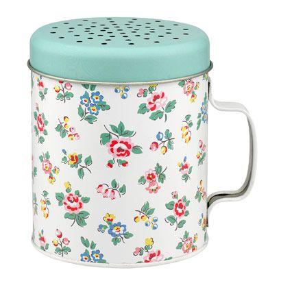 Highgate Ditsy Tin Flour Shaker 11cm