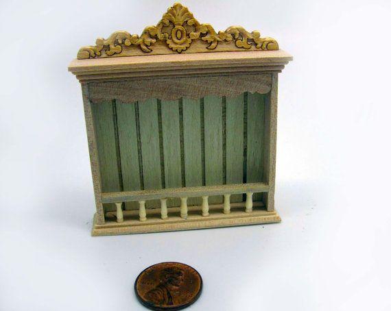 Miniatuur poppenhuis meubels onvoltooide plank door viliaminiature