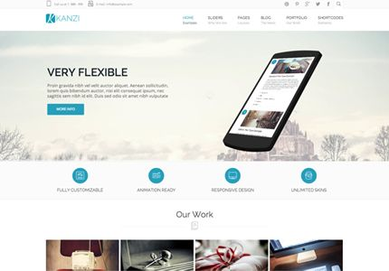 11 New Premium Business Templates Made With Bootstrap