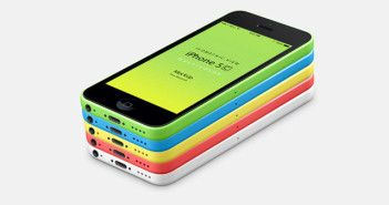 iPhone 5C PSD Mockup Template Free Download