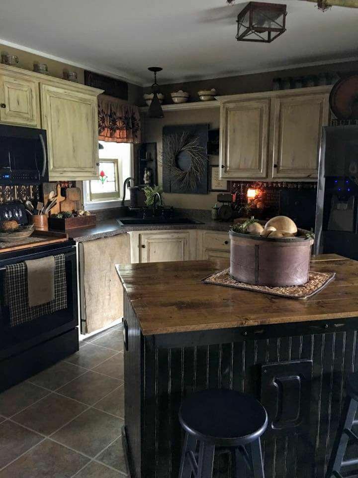 Pin By Tracy Horn On Primitive Kitchen Primitive Kitchen Decor