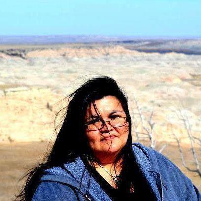 Indianz.Com > Dana Lone Elk: Sharing some good news about a Lakota writer