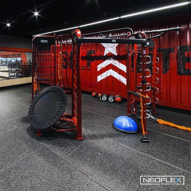 Neoflex Premium Gym Tiles At Selfit Lagoa Nova In Brazil Gym Tiles Brazil