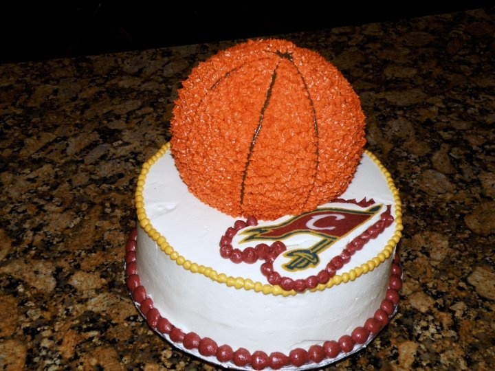 Cleveland Cavaliers Basketball Birthday Three Little
