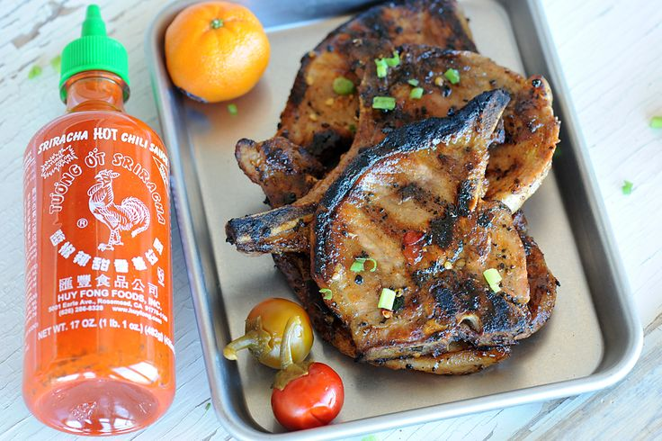 Grilled Orange Sriracha Pork