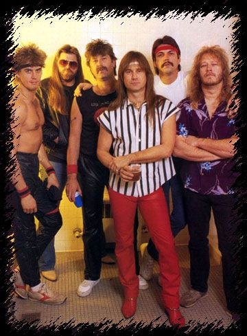 Molly Hatchet -still love them - they were just playing in the poconos on a poker run!