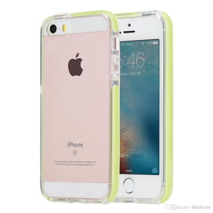 Rock 4'' Iphone 5 5s Se Case Dual Housing Soft Dounle Layer Crystal Clear Protection Guaries Series For Cell Phone High Quality Cute Phone Cases Cheap Phone Cases From Dhiphone, $8.55| Dhgate.Com